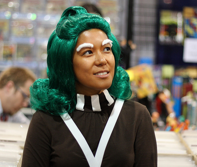 Oompa-Loompa Cos Play