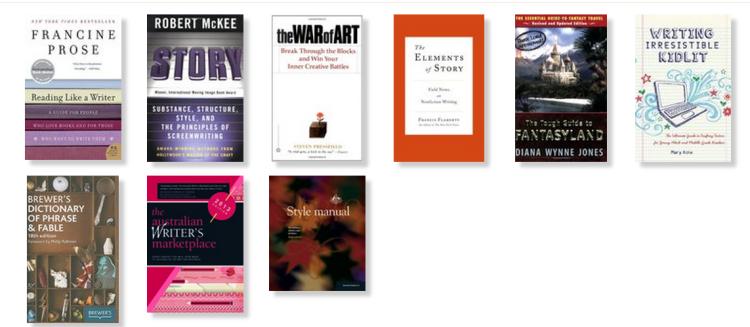 Essential Writers' Bookshelf