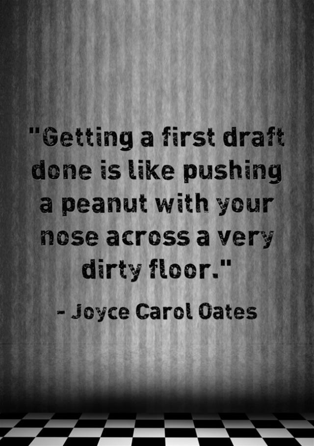 Joyce Carol Oates Quote