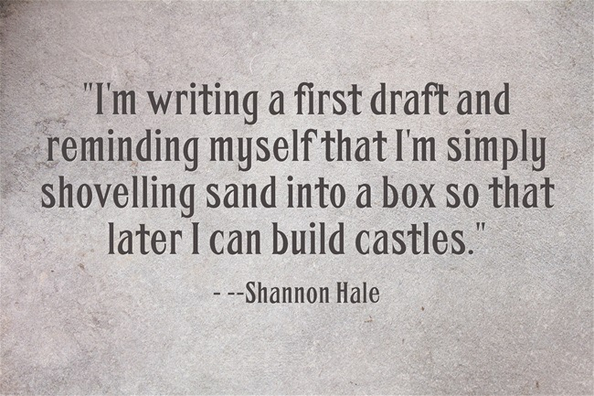 Im-writing-a-first-draft-Shannon-Hale