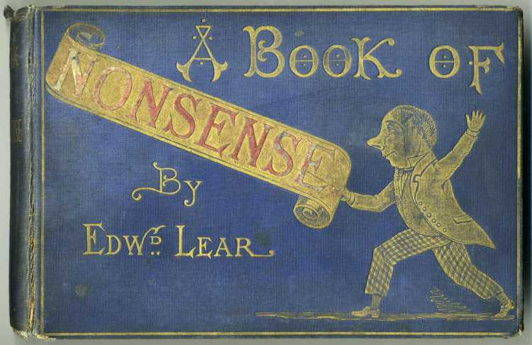 Edward Lear's 1846 Book of Nonsense - Chockablock full of limericks