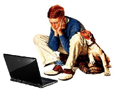 Blogging Fatigue ala Rockwell