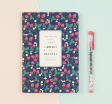 MochiThings Flowery Journal 2018 Planner.
